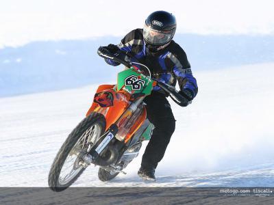 Les frères Kallio se préparent sur la glace