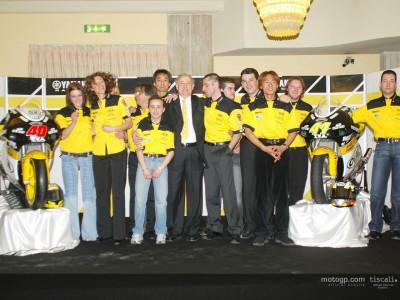 El equipo NC World Trade presenta a  Sabbatani y Sekiguchi