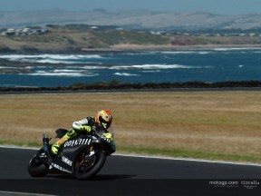 Images from the Yamaha test at Phillip Island