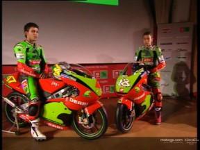 La Derbi Racing ha presentato la sua squadra a Barcellona