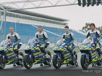 Présentation officielle des teams Telefonica Movistar Honda