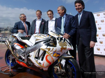 Interviste dalla presentazione di MS Aprilia Racing