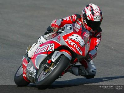 La segunda sesión de 250cc en Barcelona, acortada por la lluvia