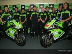 Kawasaki desvela la nueva ZX-RR en la presentación del equipo