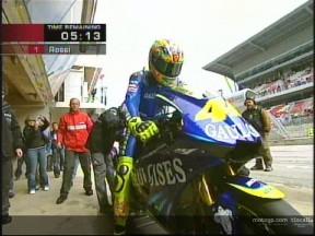 Rossi de retour aux affaires avec Yamaha