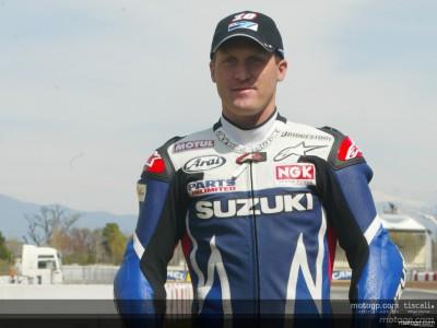 Roberts felice dei progressi della Suzuki