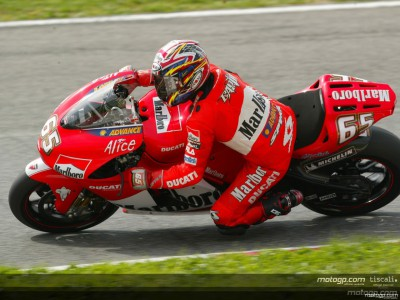 Capirossi sets a new benchmark in the top speed charts