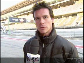 Porto rueda a ritmo de récord  en el test de Aprilia en Mugello