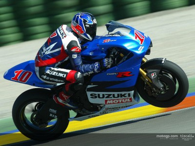 Roberts and Suzuki ready to race