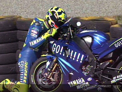 Yamaha  agradece el  `genio´ de Rossi