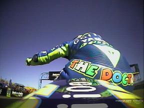 Revivez le dernier tour de Welkom avec Valentino Rossi