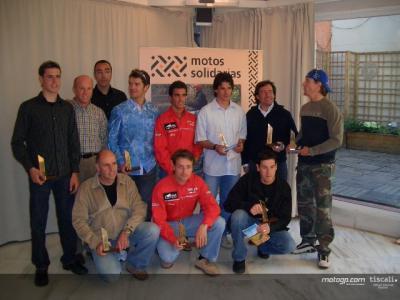 Pilotos espanhóis membros honorários de Motos Solidárias