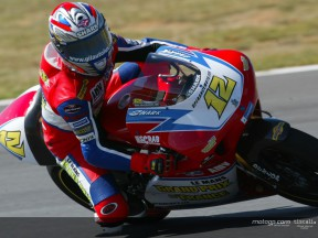 Vincent valora sus primeros puntos en 250cc