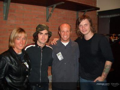 Randy Mamola meets the Stereophonics