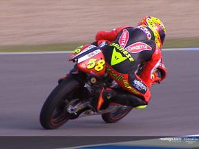 Simoncelli hits form on first day