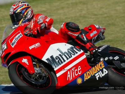 Ducati no alcanza los objetivos en el primer día