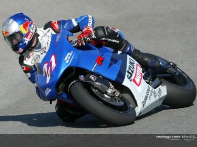 Hopkins happy with his Suzuki
