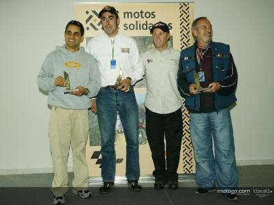 Juan Pablo Montoya si unisce a Motos Solidarias