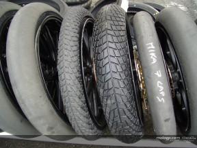 Los neumáticos de lluvia aparecen en Jerez