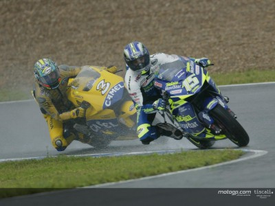 Sete Gibernau is 'Rainman'