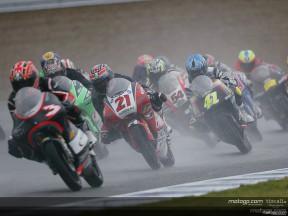 Trampa de agua en la pista de Jerez