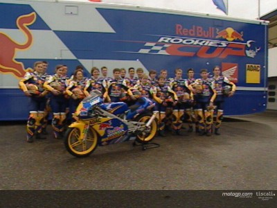 Red Bull Rookies Cup to MotoGP returns