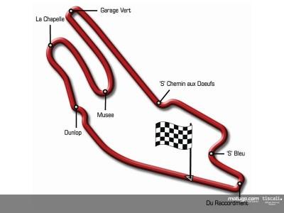 Un giro del circuito  Bugatti con Sete Gibernau