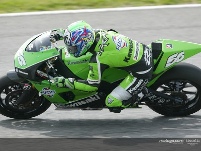 Harald Eckl happy with Kawasaki progress