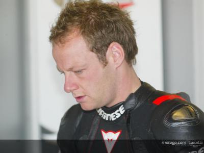 Byrne panse ses plaies avant le Mans