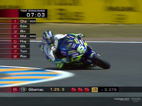 Gibernau leads Spanish rule at Le Mans