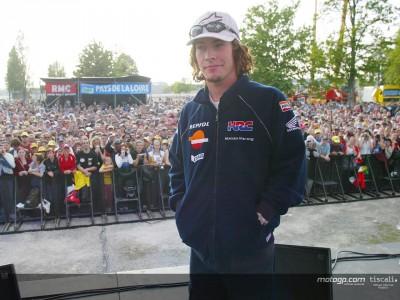 French fans meet MotoGP heroes