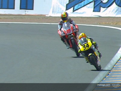 Dovizioso on top in another head-to-head with Locatelli