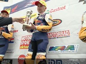 Michels wins Red Bull Rookies opener