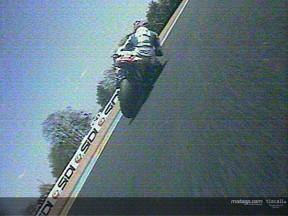 Le dernier tour de la course du Mans avec Gibernau