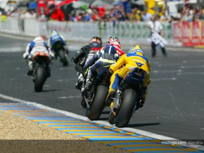 MotoGP on live television with 46 broadcasters in 2004