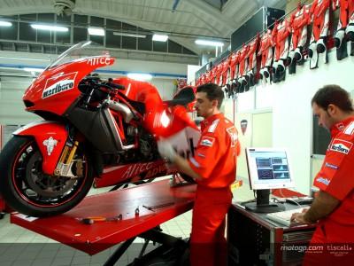 En el corazón de la factoría Ducati