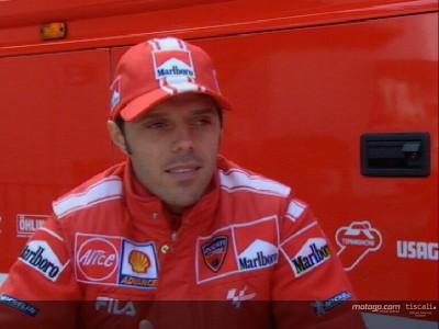 Ducati rodará con la Desmosedici de 2003  en Mugello