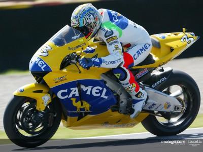 Biaggi shows his colours