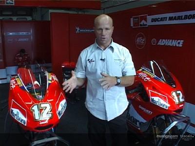 Randy Mamola mène l'enquête chez Ducati