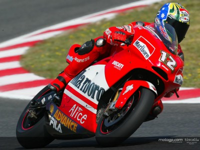 Ducati Marlboro men in positive mood