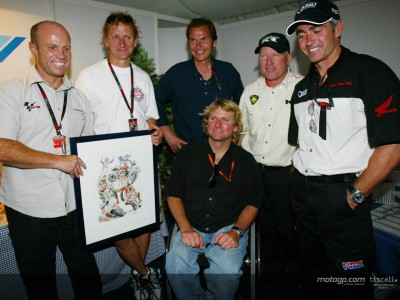 Schwantz celebrates 40th birthday with old friends