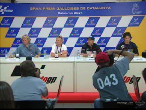 A decade of World Champions exchange memories at Catalunya