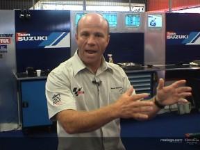 Randy Mamola reports on the progress at Suzuki