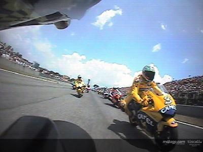 First lap at Catalunya onboard with Gibernau