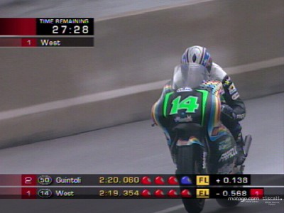 Ad Assen a sorpresa c´è West in pole