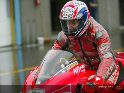 La pioggia manda in fumo i progetti Ducati