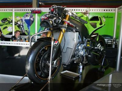 Kawasaki recibe los nuevos Bridgestone para la carrera de Rio