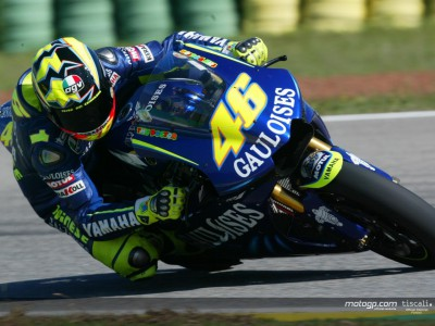 Rossi accusa problemi all´assetto