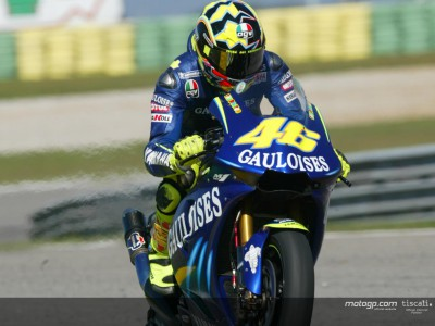 Tyre and set-up problems for Rossi