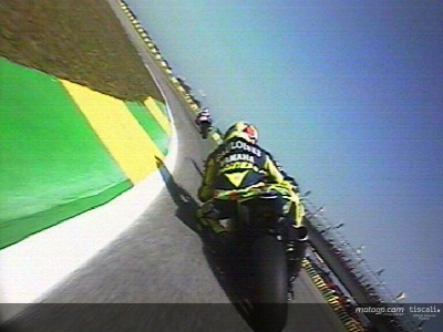 First lap at Rio onboard with Gibernau